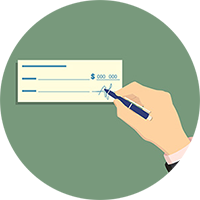payment option cheque